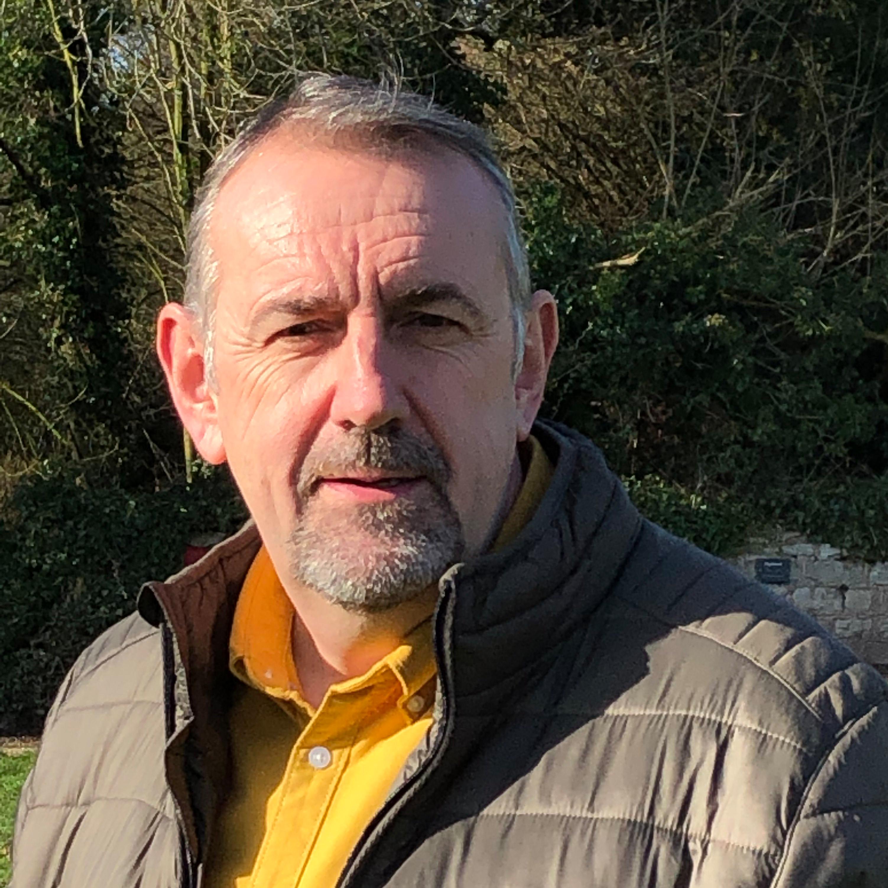 Portrait of Nick Turner