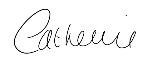 Catherine's signature