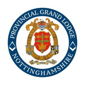 Logo of the Provincial Grand Lodge of Nottinghamshire Freemasons